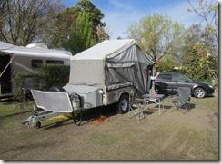 Camper at Hamilton